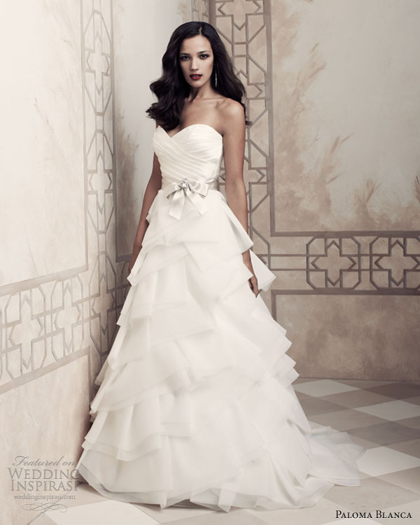 Paloma Blanca 2013 Premiere Collection | Wedding Inspirasi | Page 2
