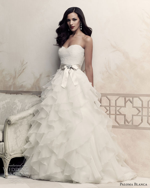 Wedding Gown 2013: Paloma Blanca 2013 Premiere Collection