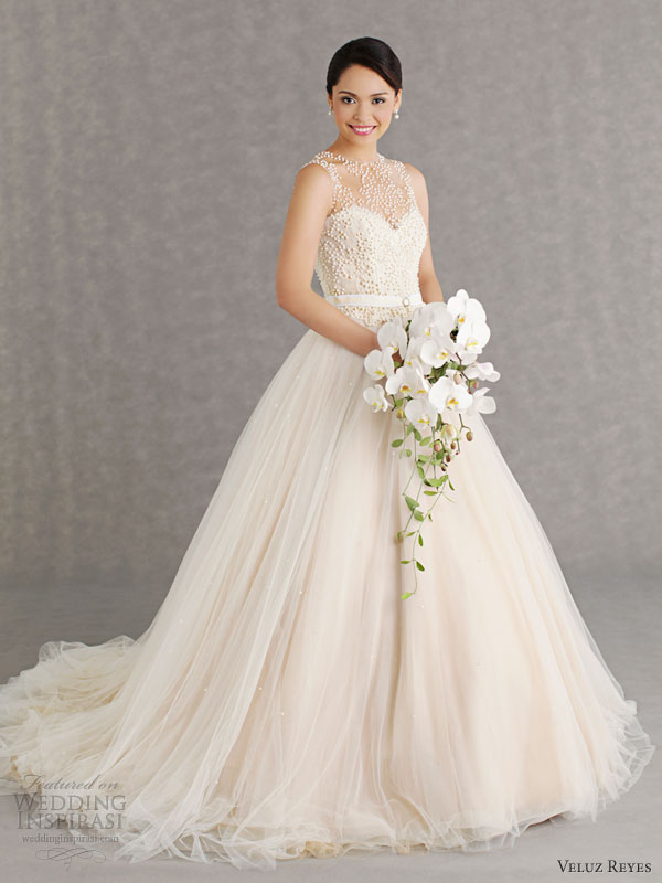 Veluz Reyes Wedding Dresses 2013 | Wedding Inspirasi