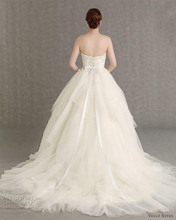 Veluz Wedding Gown Price: Veluz Reyes Wedding Dresses 2013