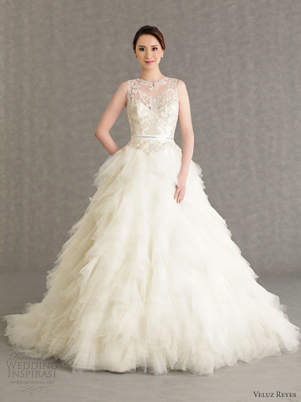 veluz reyes wedding dresses 2013 bridal rtw vivian gown