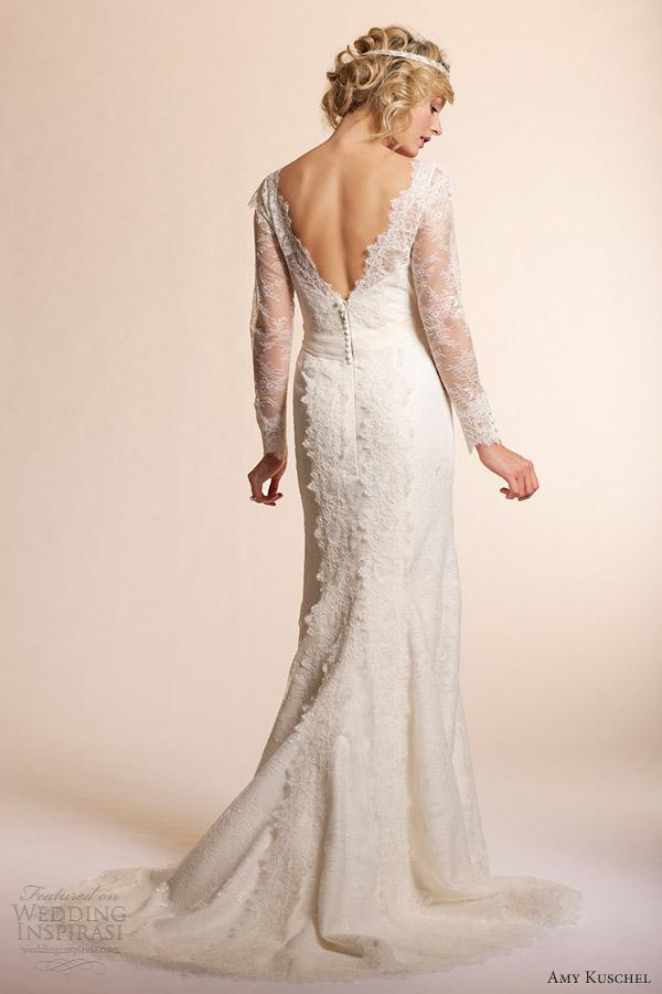 1940s Vintage Wedding Dresses 41 Perfect amy kuschel long sleeve