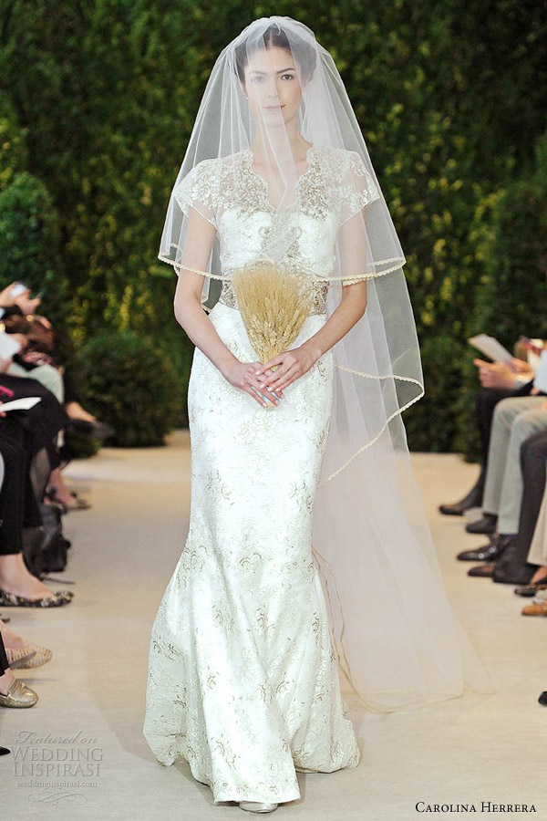 Carolina Herrera Bridal Spring 2014 Wedding Dresses