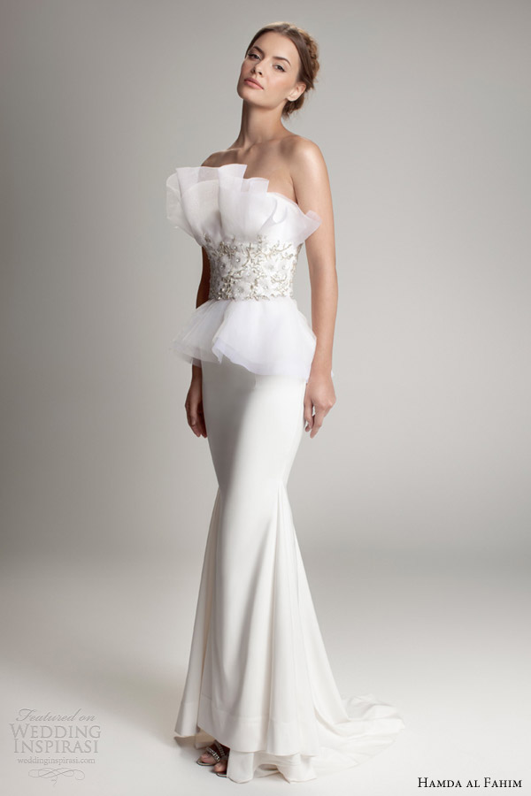 hamda al fahim fall 2012 2013 wedding dress