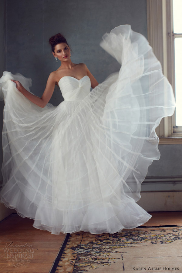 فساتين زفاف تهبل 2013 فساتين