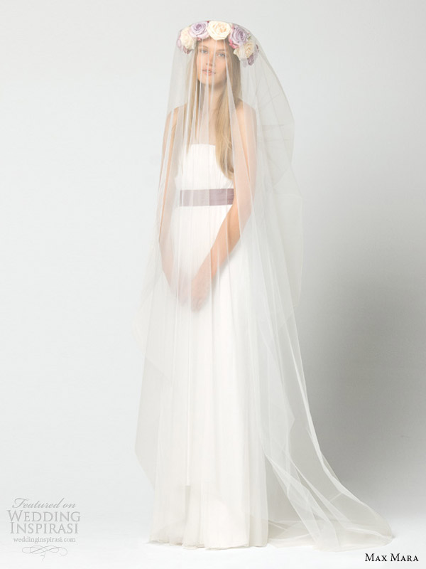 max mara bridal 2013 intero strapless wedding dress
