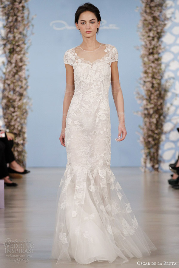 Oscar de la renta bridal 2014 wedding dresses wedding for Where to buy oscar de la renta wedding dress