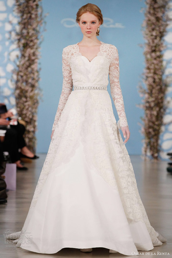 oscar de la renta bridal prices