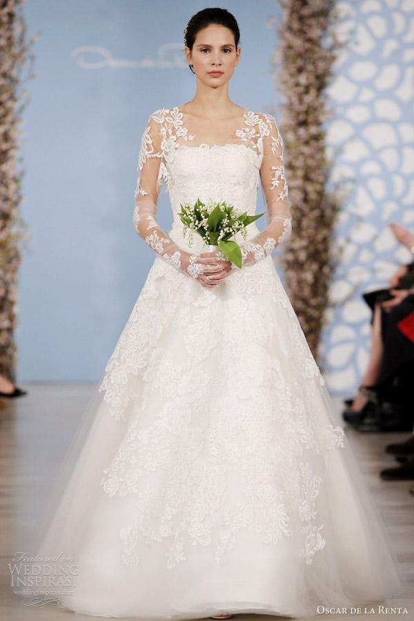 Oscar de la renta bridal 2014 wedding dresses wedding for De la renta wedding dresses