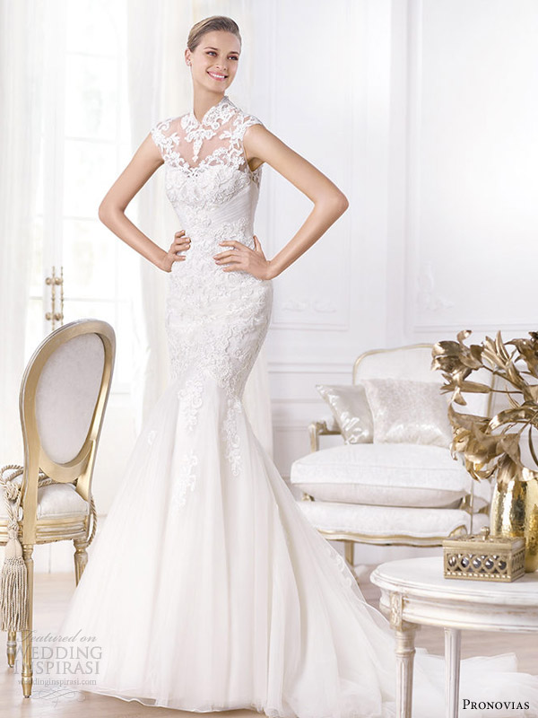 Pronovias 2014 Pre-Collection Wedding Dresses — Fashion Bridal ...