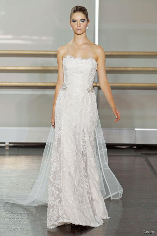 Rivini fall 2013 wedding dresses wedding inspirasi page 3 for Cinched waist wedding dress