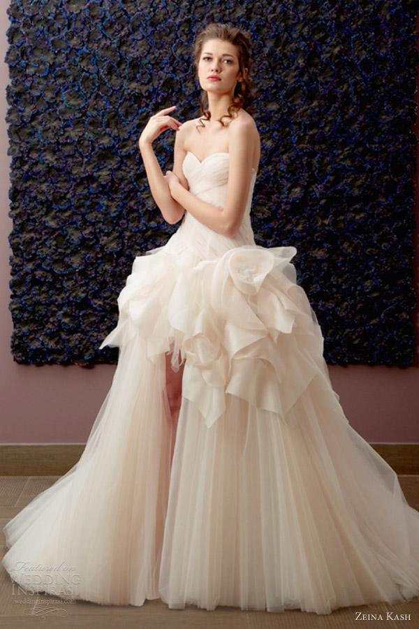 zeina kash bridal 2013 wedding dress