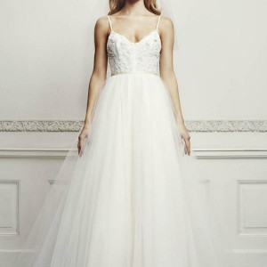 zien bridal 2013 romantic ball gown wedding dress