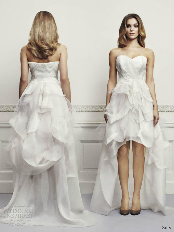 wedding dress hem