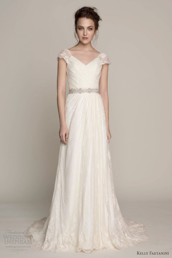 Capped Sleeve Wedding Dresses - www.zapatosades.top