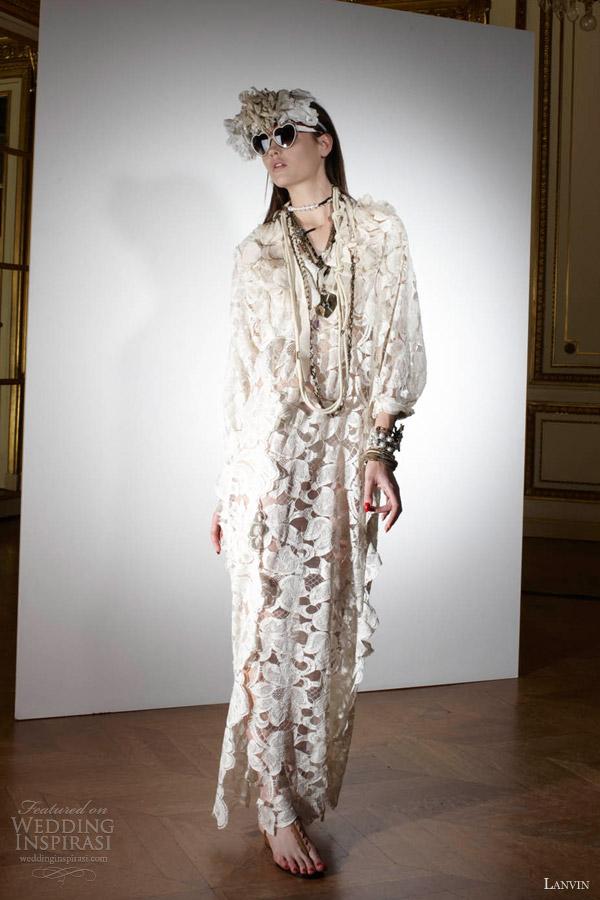 Lanvin Spring 2013 Wedding Dresses Blanche Bridal Collection Wedding Insp