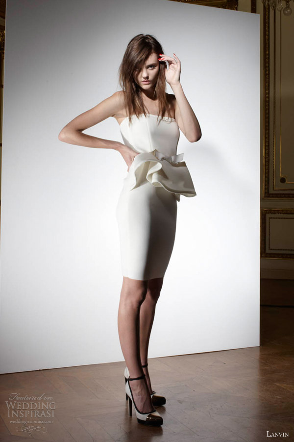 Lanvin Spring 2013 Wedding Dresses Blanche Bridal
