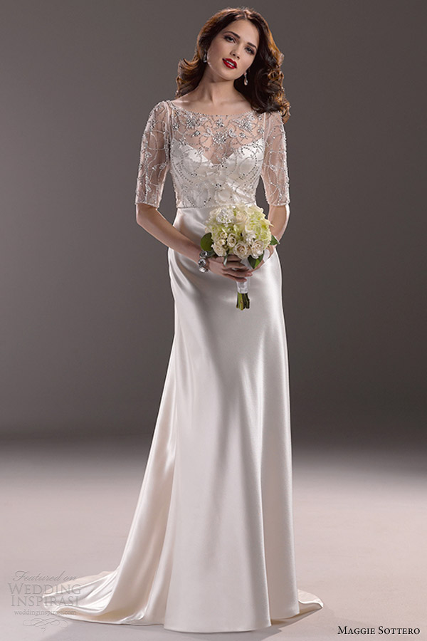 maggie sottero fall 2013 estella wedding dress