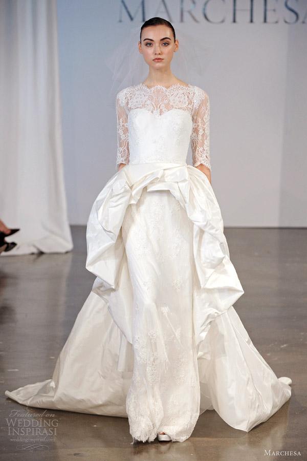 Marchesa Bridal Spring 2014 Wedding Dresses Wedding