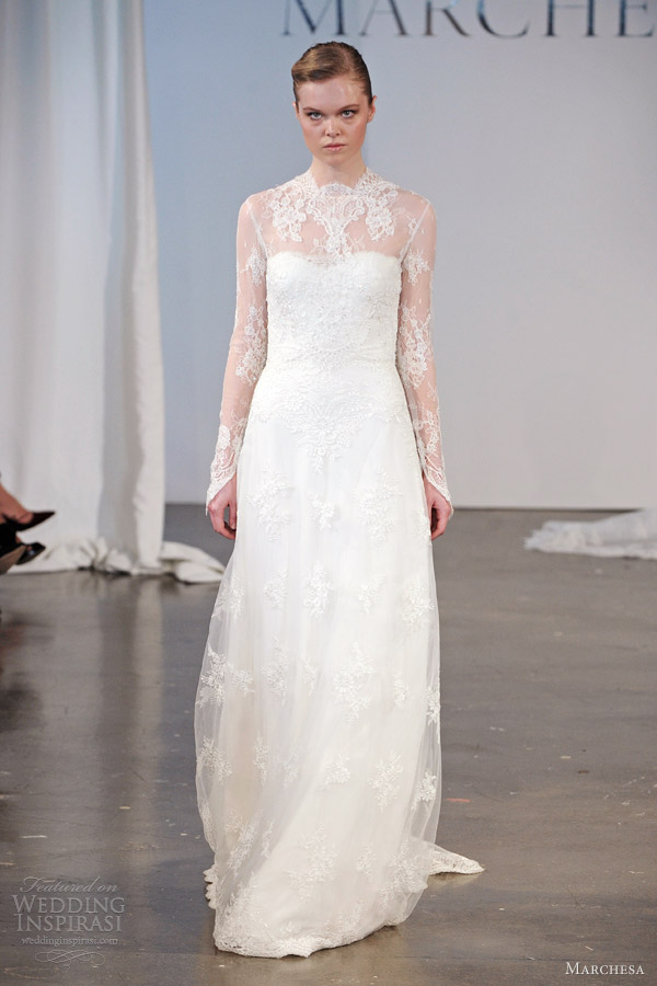 Marchesa Bridal Spring 2014 Wedding Dresses Wedding Inspirasi