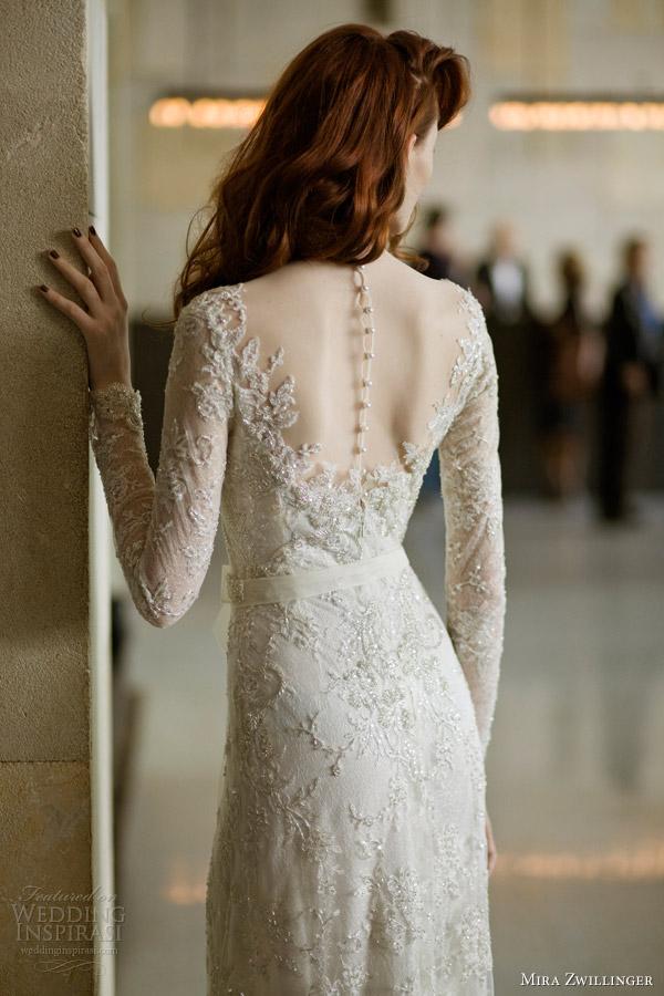 Wedding Dress Buttons 41 Beautiful mira zwillinger bridal angelina