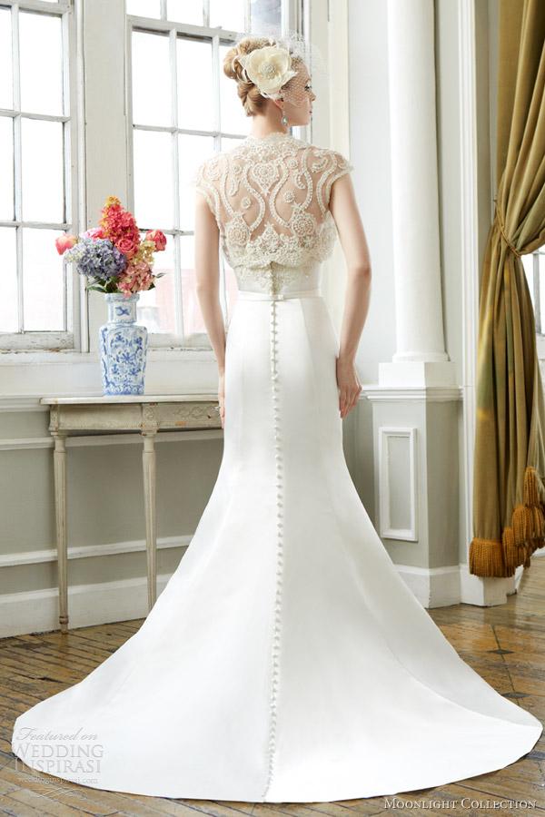 Moonlight Collection Fall 2013 Wedding Dresses | Wedding Inspirasi