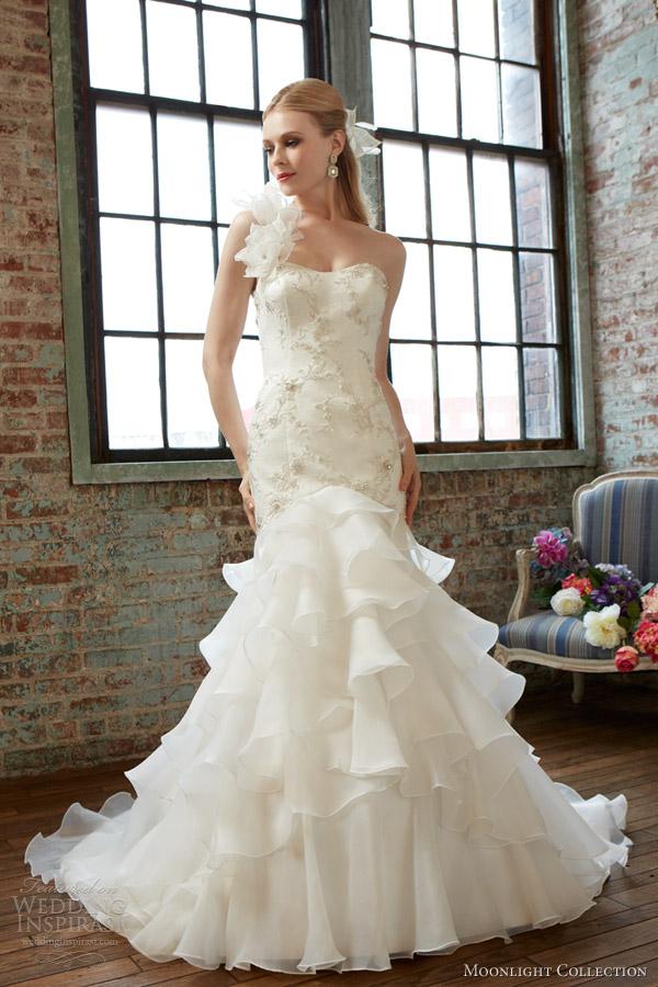 Moonlight Collection Fall 2013 Wedding Dresses   Wedding Inspirasi ...