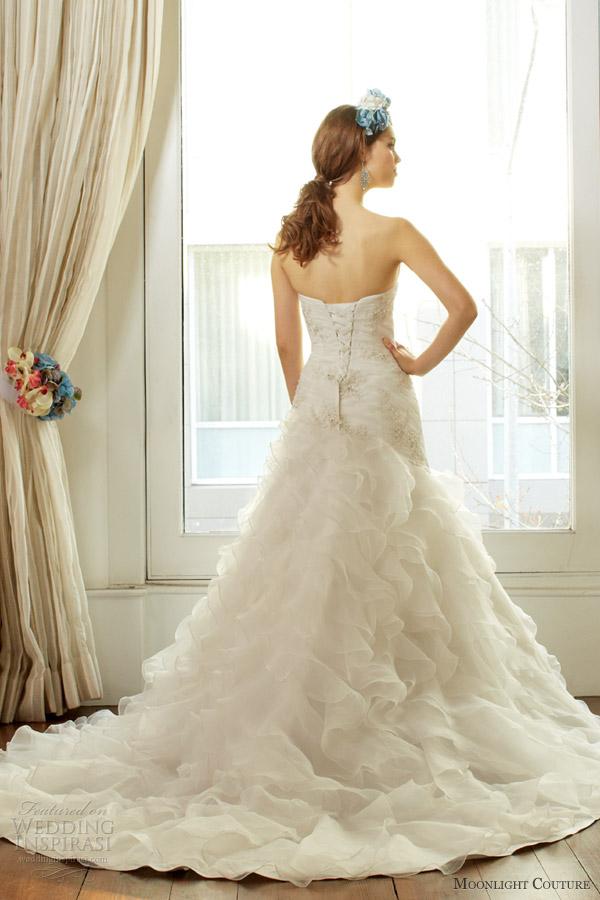 Moonlight Couture Fall 2013 Wedding Dresses Wedding