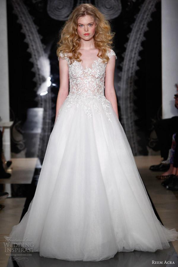 Reem Acra Bridal Spring 2014 Wedding Dresses Wedding