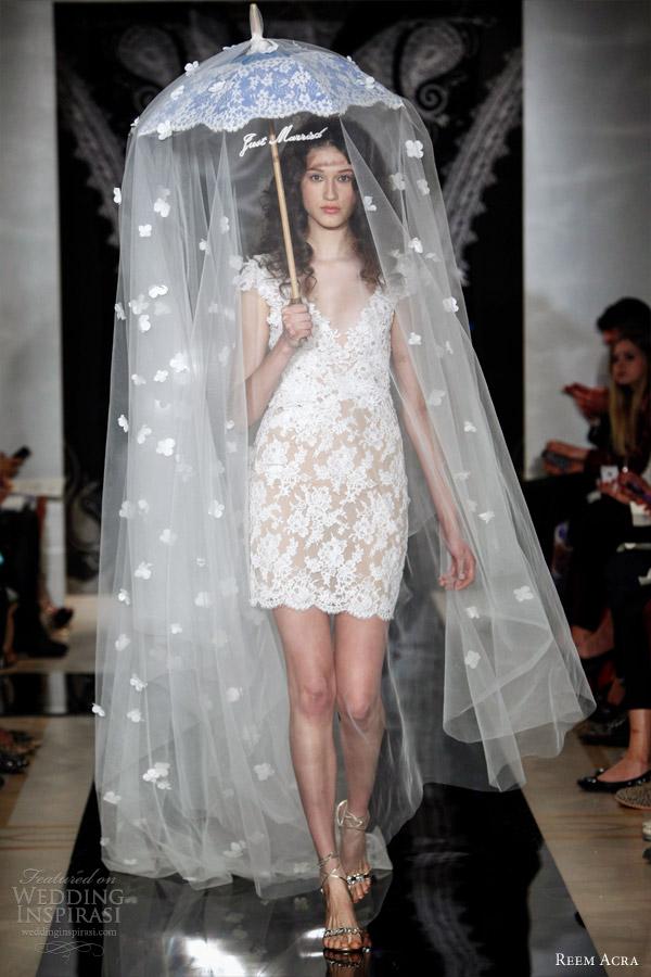 Reem acra bridal spring 2014 wedding dresses wedding inspirasi