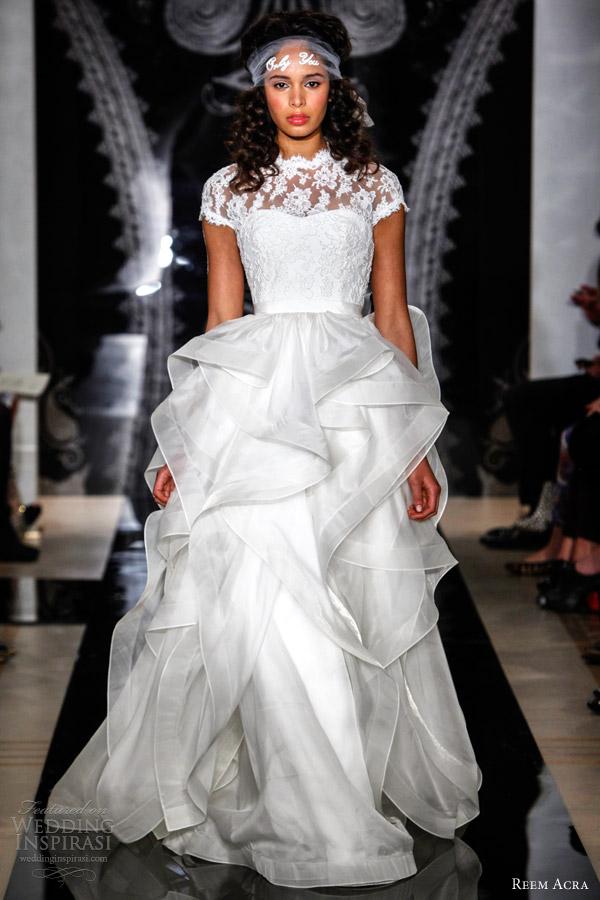 Reem Acra Bridal Spring 2014 Wedding Dresses | Wedding Inspirasi ...