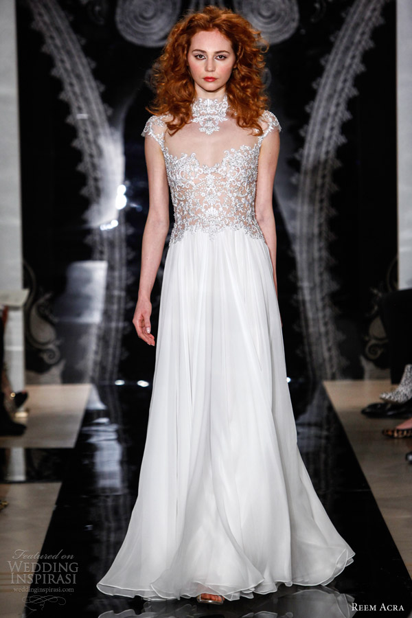 reem acra bridal spring 2014 wedding dresses wedding inspirasi