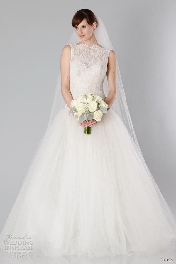 Theia Fall 2013 White Collection Wedding Dresses Wedding