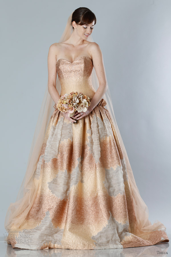 Dress For A Fall Wedding color wedding dress