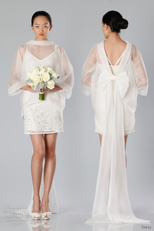 Theia Fall 2013 White Collection Wedding Dresses Wedding Inspirasi