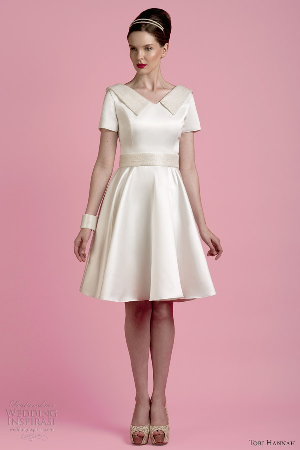 Tobi Hannah Spring 2014 Wedding Dresses The Wall Bridal