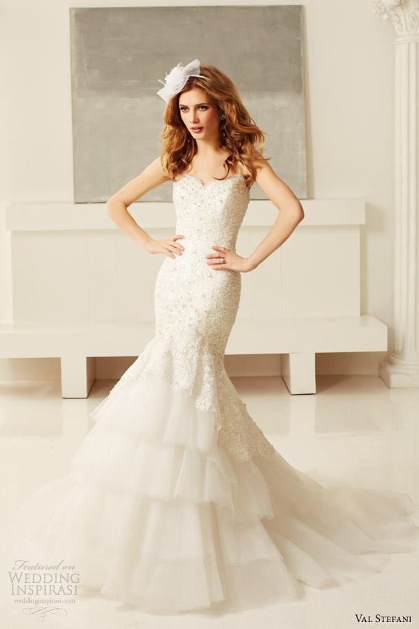 Val Stefani Bridal Fall 2017 Wedding Dress Style D8048 Strapless Sweetheart