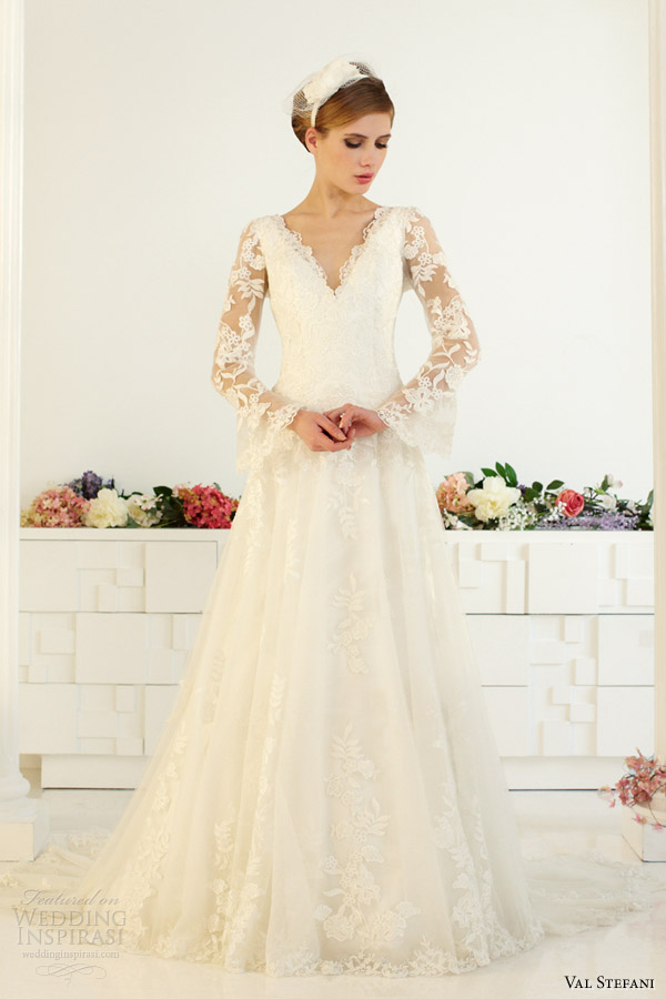 Val Stefani Fall 2013 Wedding Dresses Wedding Inspirasi