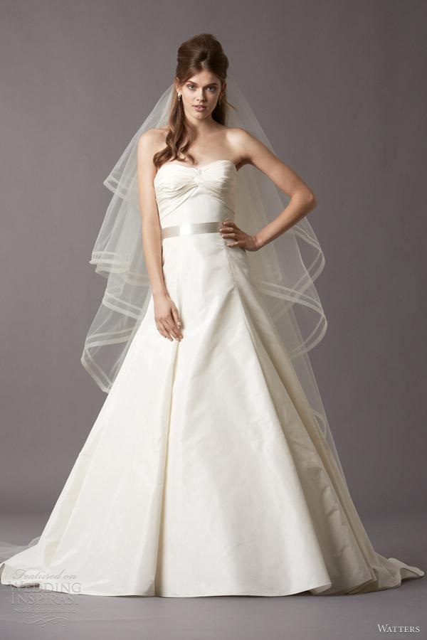 Watters Brides Fall 2013 Wedding Dresses   Wedding Inspirasi   Page 3