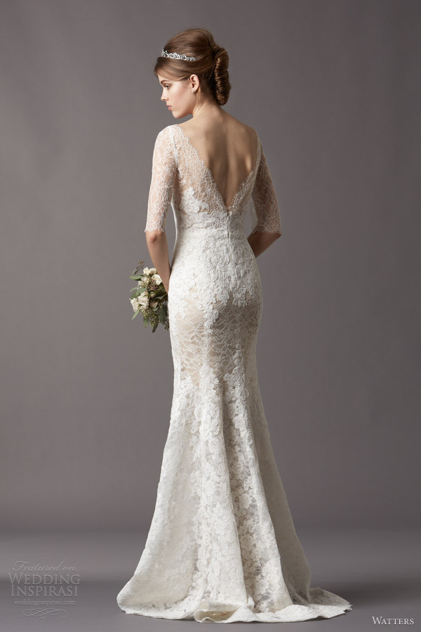 Fall Wedding Dresses 2014 Above and below Kerry gown