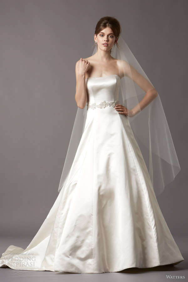 Watters Brides Fall 2013 Wedding Dresses Wedding