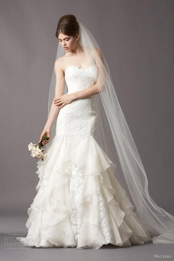 Watters Brides Fall 2013 Wedding Dresses Wedding Inspirasi