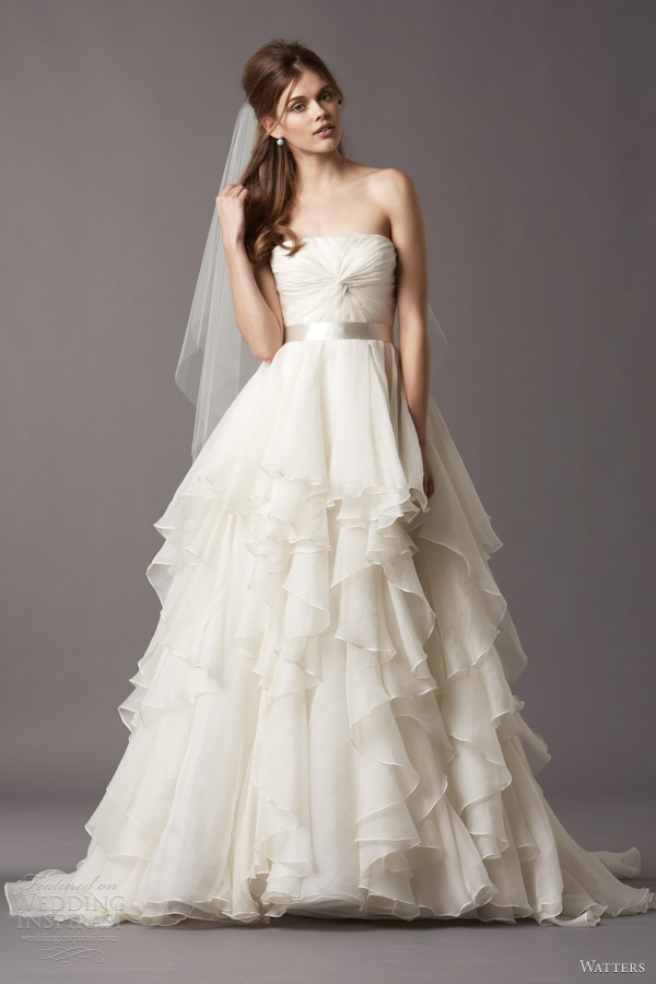 Watters Brides Fall 2013 Wedding Dresses | Wedding Inspirasi | Page 2