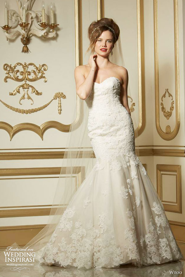 Wtoo Brides Fall 2013 Wedding Dresses Wedding Inspirasi