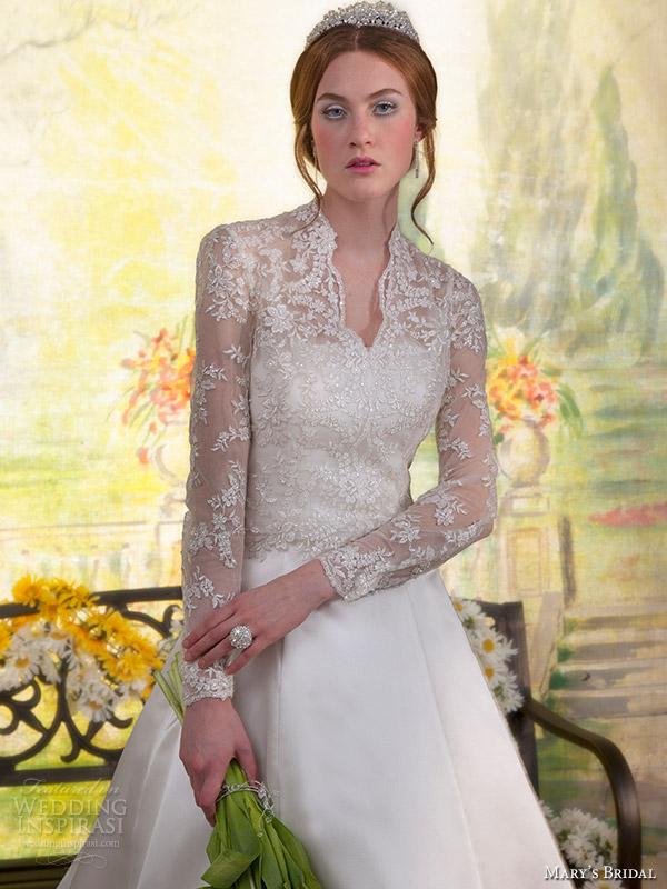 الراقية marysbridal تقدم تشكيلة من الفساتين الزفاف صيف 2013