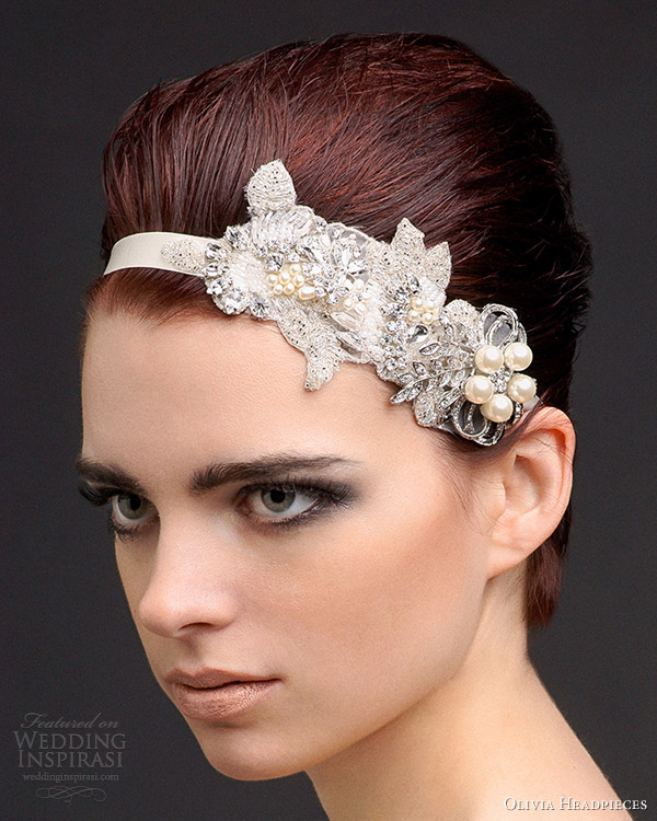 olivia bridal accessories 2013 bridget headband cum belt applique swarovski crystal