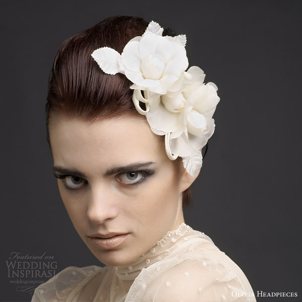 Unique Bridal Headpieces: Olivia Headpieces 2013 Bridal Collection