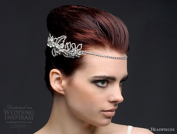 olivia headpieces 2013 adele bridal hair accessory