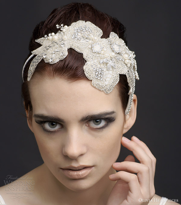 olivia headpieces 2013 adria bridal hair accessory