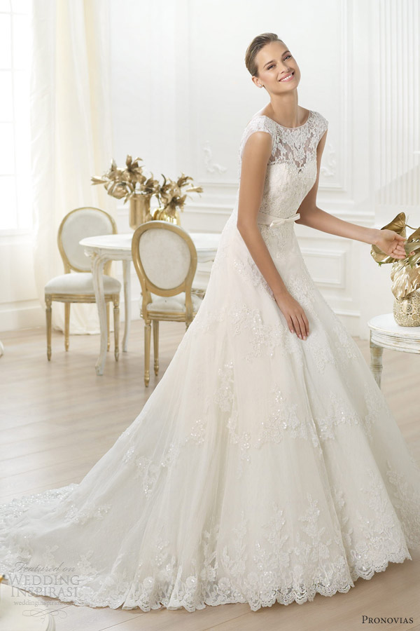 Pronovias Wedding Dresses — Costura 2014 Pre-Collection | Wedding ...